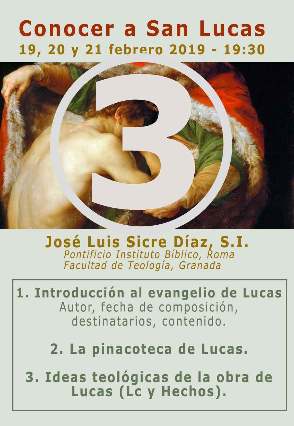 JOSE LUIS SICRE, S.I. PARTE 3