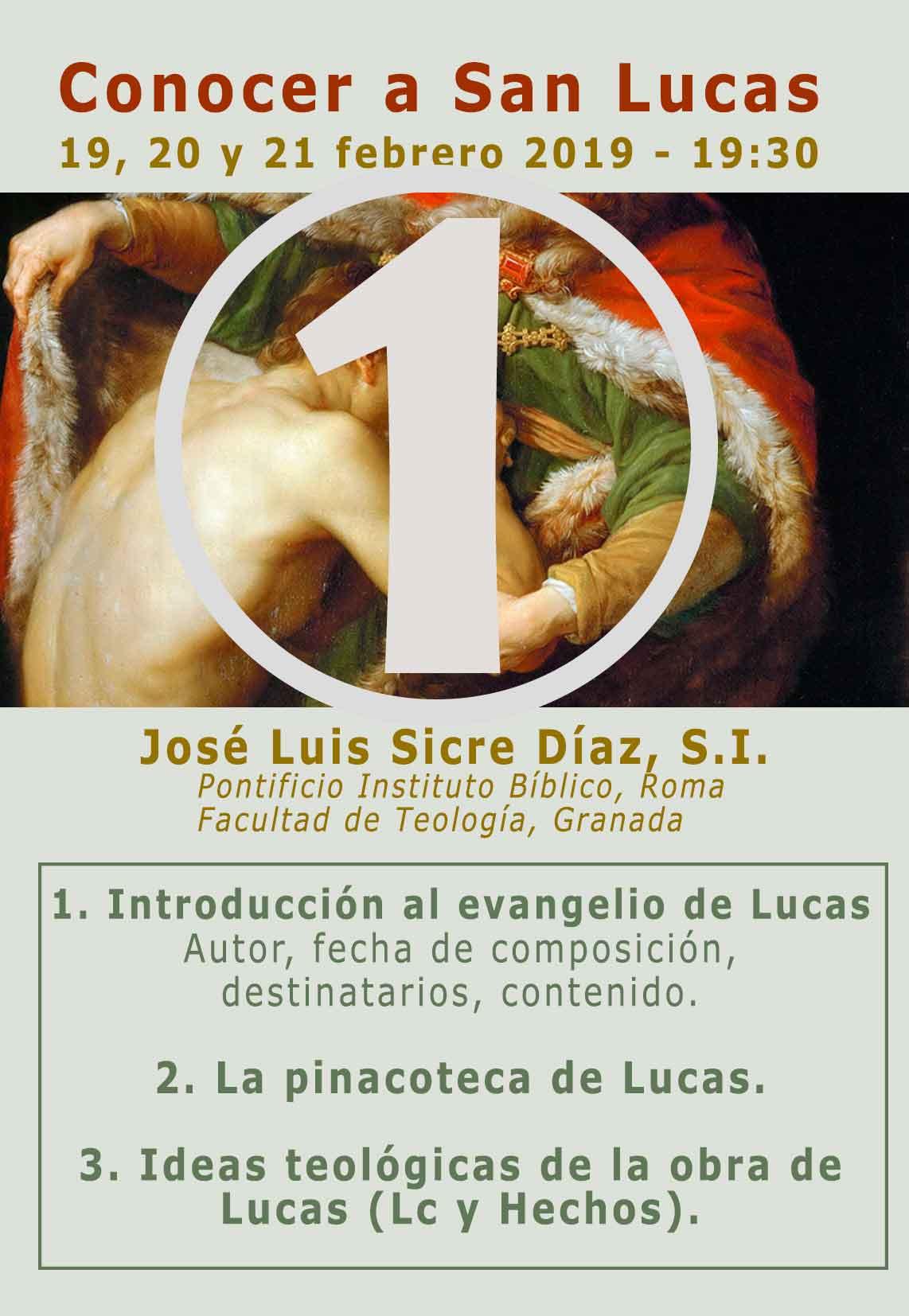JOSE LUIS SICRE, S.I. PARTE 1